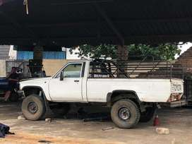 Toyota hilux 4x4 to swop for why