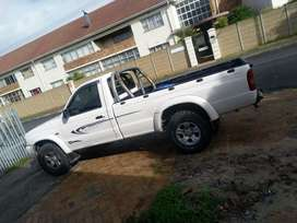 Bakkie for hire wth a driver