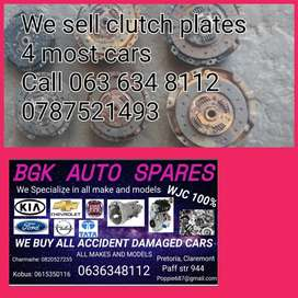 We sell clutch plates for most of the cars give us a call