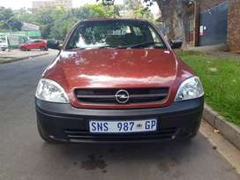 2005 Opel Corsa Utility with Canopy and leather seats