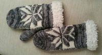 Obrázek Pletené zimní rukavice