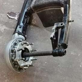 Suzuki M109 rear suspension