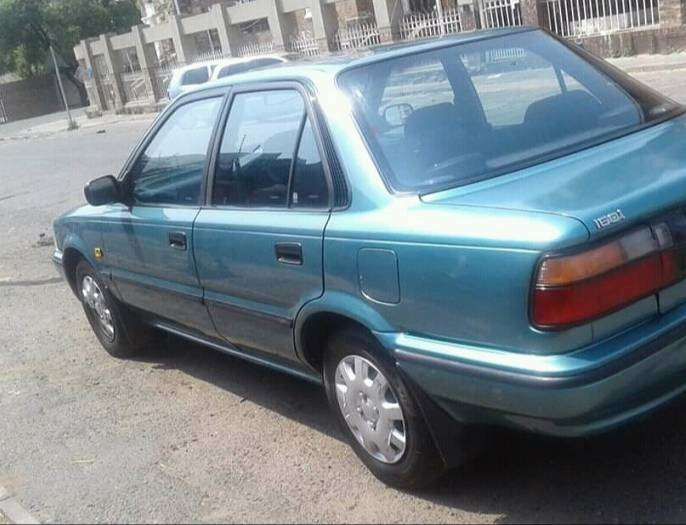 Reliable 96 Toyota 1.6 Corolla Gle edition for sale reliable licensed 0