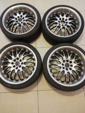 17 Mags and Tyres (used)