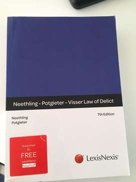 Neethling-Potgieter-Visser- Law of Delict 7th Ed