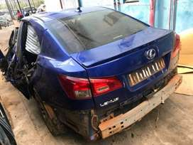 2010 Lexus ISF 5.0 V8 Stripping For Spares