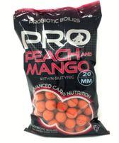 Starbaits Probiotic Peach Mango Kulki 20mm 1kg