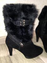 Сапожки ботильоны ботинки сапоги зимние