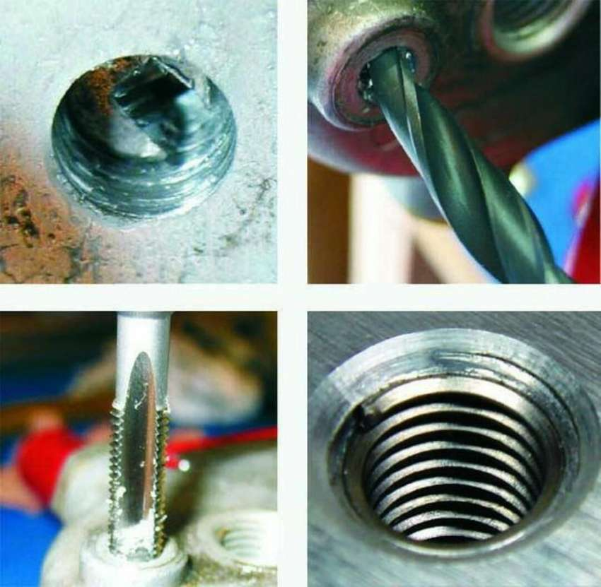 Stripped Thread Repair / Broken bolt removal