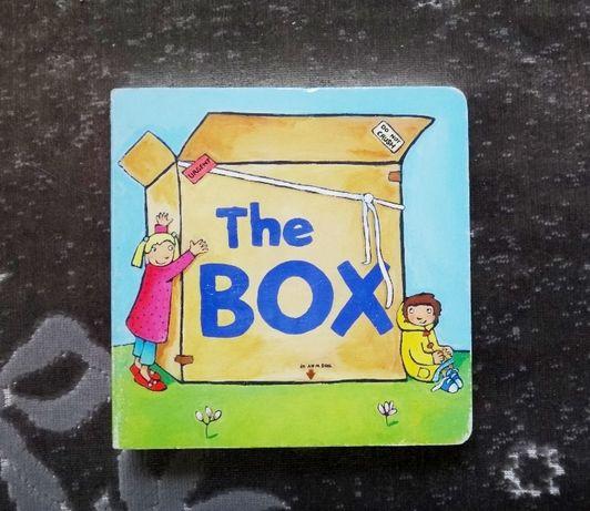Картонная детская книга книжка на английском The box
