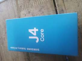 New Samsung j4 core with box and all sesreis