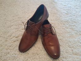 Pantofle męskie 41 skóra wysoka jakość stan idealny