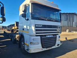 2017 DAF XF105.460 WITH HUB REDUCTION & INTARDER