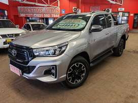 2019 Toyota Hilux 2.8GD-6 XTRA CAB LEGEND 50 WITH ONLY 79000KMS  FULL