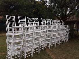 Tables, Chairs, Tiffany chairs