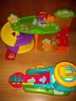Zabawka zjezdzalnia dla malych samochodzików.
