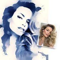 Дрим арт картина поп арт портрет печать на холсте фото по коллаж