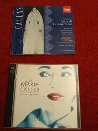 Maria Callas The Voice of the century 2CD książeczka