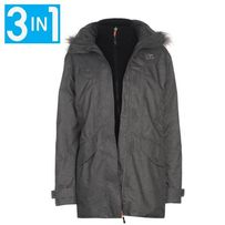 Куртка женская Karrimor 3 в 1 PARKA, парка, Англия, Waterproof 10000