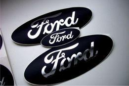 Наклейка на авто форд Ford цвет хром виниловые наклейки