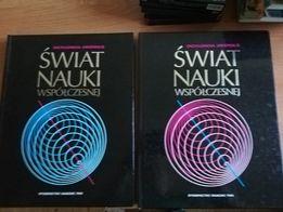 """Książki """"świat nauki współczesnej"""" w idealnym stanie 2 tomy."""