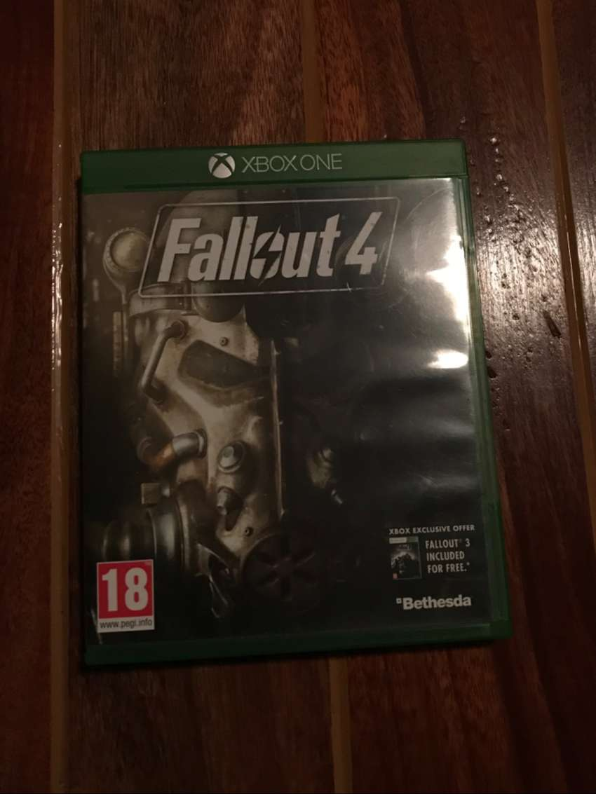 Fallout 4 Xbox One Game 0