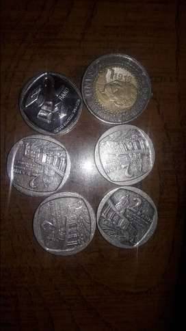 R5& R2 Mandela coin, Union building & Right to education available