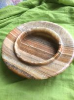 Пепельница подарочная из натурального камня,оникс