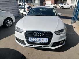 2016 Audi A4 1.8 TFSI SLine with a leather seat and sunroof