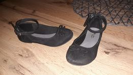 Czarne Balerinki rozmiar 25 16cm