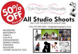 Studio Shoot 50% Discount