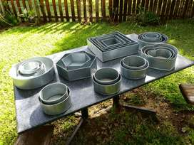 Steel baking pans for sale