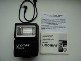 фотовспышка UNOMAT 20B auto,фотоглянцеватель