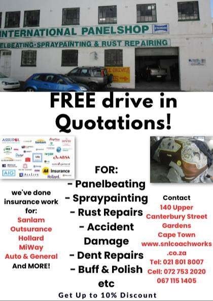 We Repair Accident Damaged Cars needing TLC Treatment 0