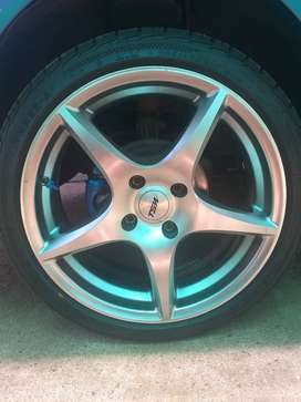 17inch TSW rims and tyres