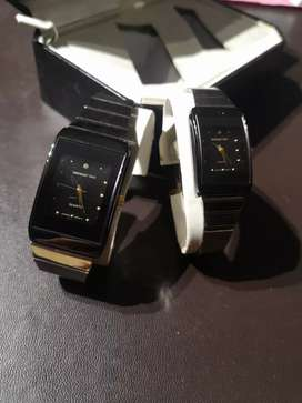 Manhattan Male and Female Watch Set
