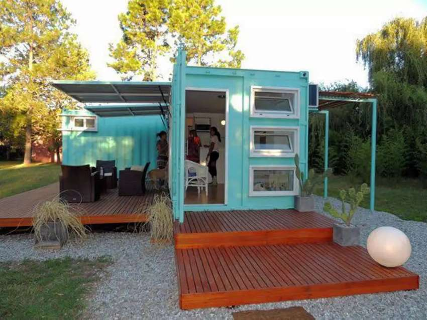 We build containers Office , restaurants,shops,homes 0