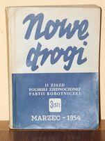 Nowe Drogi marzec 1954