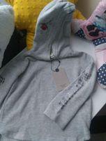 Bluza z kapturem z napisami Zara 104