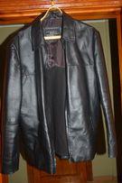 Срочно! Кожаная куртка новая мужская рXL