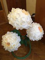 Бумажные цветы, декор для фотосессии, подарок