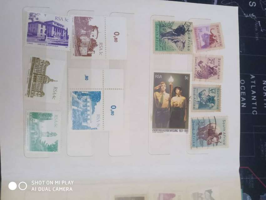 South African stamp collection *make an offer*