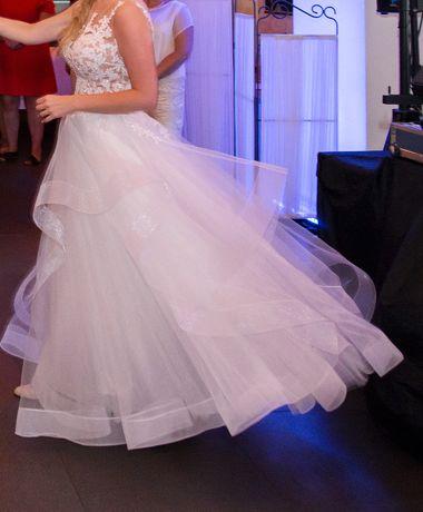 suknia ślubna piękna włoska rozmiar 38 Częstochowa - image 5