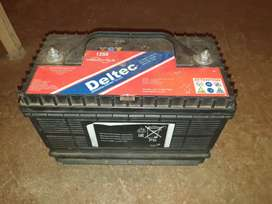 Solar and Car Battery in excellent condition working
