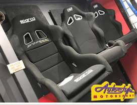 Sparco Pro 2000 Racing seat, genuine Sparco product. sold  each. The P