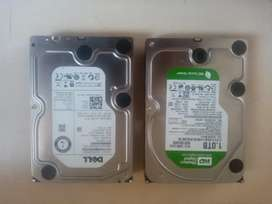 Dell and Western Digital HDDs