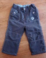 Spodnie chłopięce w rozm. 80 9-12 miesięcy