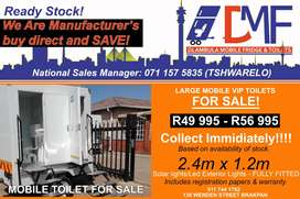 Mobile Toilets/Vip Toilets For Sale