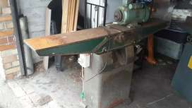 Woodworking machine surface planer