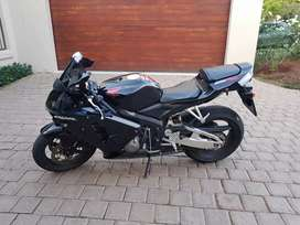Honda CBR 600 RR for sale. Two helmets included